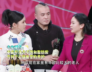 Chen Chenquan Star TV program introduction of flax seed oil