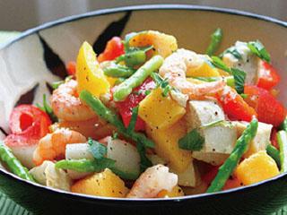 生津止渴,減肥瘦身——黃桃沙拉